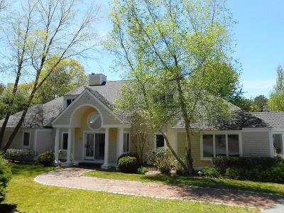 Mashpee Single Family Home Active W/Contingency: 135 The Paddock Circle