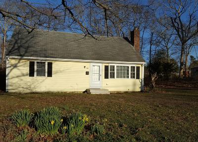 Barnstable Single Family Home For Sale: 160 Hinckley Road