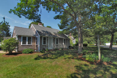 Harwich Single Family Home For Sale: 278 Lower County Road