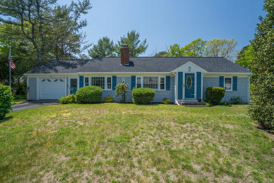 Yarmouth MA Single Family Home For Sale: $354,900