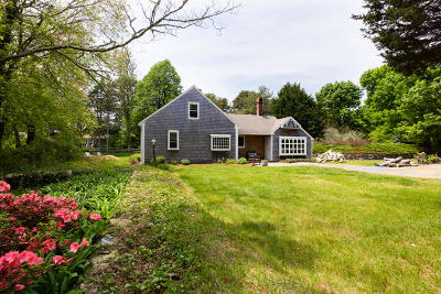 Eastham Single Family Home Active W/Contingency: 35 Governor Prence Road