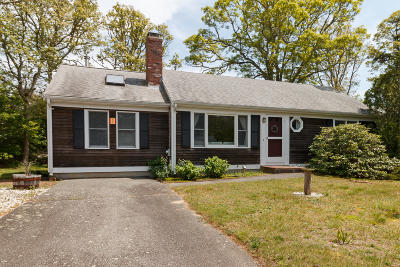 Harwich Single Family Home Active W/Contingency: 13 Deer Meadow Road