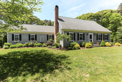 Yarmouth Single Family Home Active W/Contingency: 752 Route 6a Route