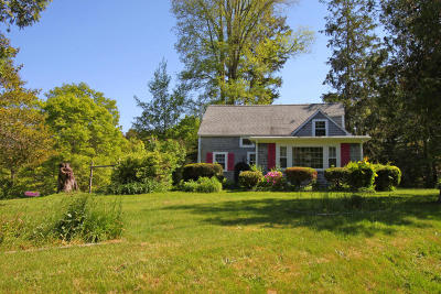 Mashpee Single Family Home Active W/Contingency: 36 Lovells Lane