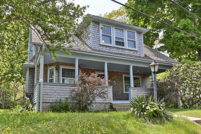 Bourne Single Family Home For Sale: 22 Washburn Street