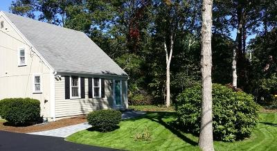 Barnstable Single Family Home Active W/Contingency: 17 Cap'n Lijah's Road