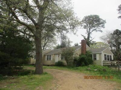 Harwich MA Single Family Home For Sale: $299,900