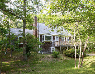 Falmouth Single Family Home For Sale: 28 Cutter Drive