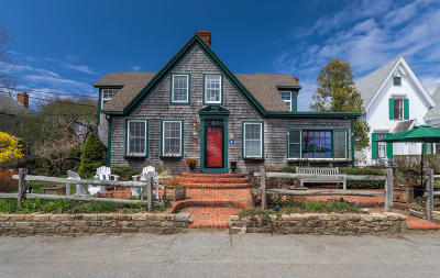 Provincetown Single Family Home For Sale: 178 Bradford Street