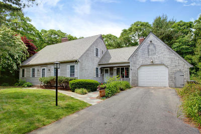Falmouth Single Family Home For Sale: 56 Hillcrest Drive