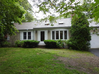 Barnstable Single Family Home Active W/Contingency: 277 Scudder Avenue
