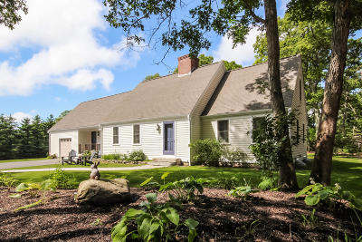 Falmouth Single Family Home For Sale: 203 Currier Road