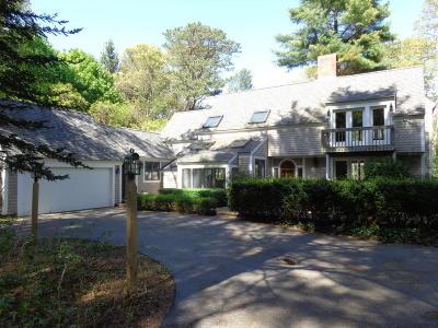 Mashpee Single Family Home For Sale: 40 Punkhorn Point Road
