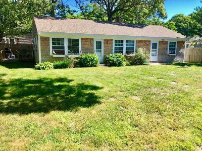 Barnstable Single Family Home For Sale: 14 Marston Avenue