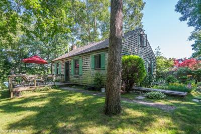 Bourne Single Family Home For Sale: 780 Shore Road