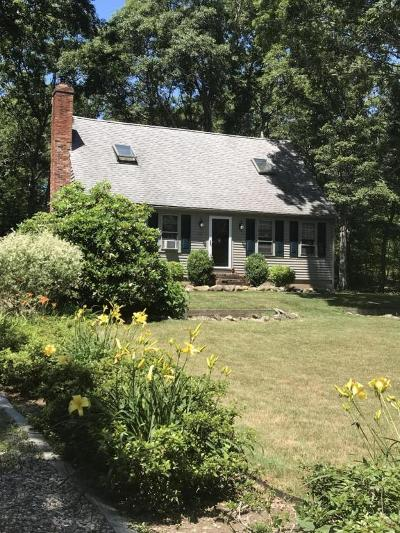 Sandwich Single Family Home For Sale: 33 Falmouth-Sandwich Road