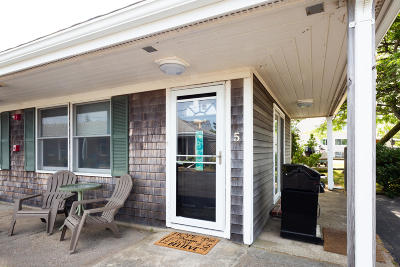 Provincetown Condo/Townhouse For Sale: 953 Commercial Street #U5