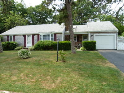 Yarmouth Single Family Home For Sale: 100 Capt Chase Road