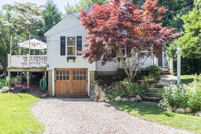 Barnstable Single Family Home Active W/Contingency: 59 Betty's Pond Road