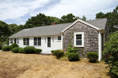 Harwich Single Family Home Active W/Contingency: 78 Long Road