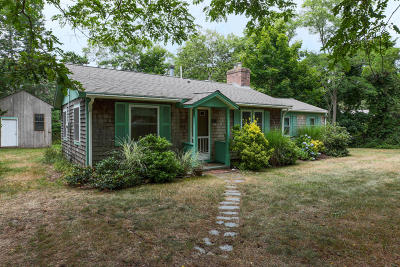 Eastham Single Family Home Active W/Contingency: 320 Weir Road