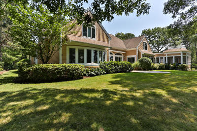 Mashpee Single Family Home For Sale: 117 Gullane Road