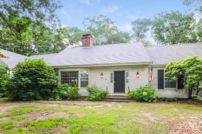 Barnstable Single Family Home For Sale: 204 Marstons Lane