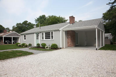 Yarmouth Single Family Home For Sale: 216 Winslow Gray Road