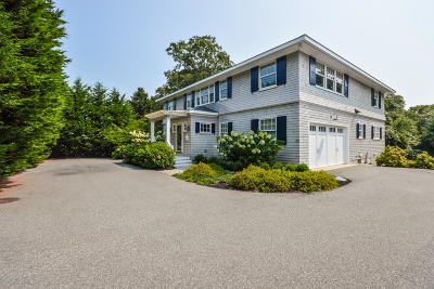 Falmouth Single Family Home Active W/Contingency: 375 Jones Road
