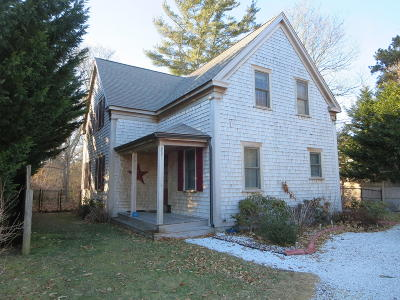 Yarmouth Single Family Home For Sale: 37 Union Street
