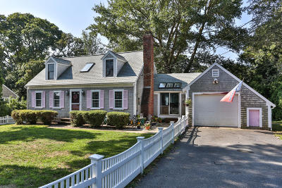 Harwich Single Family Home Active W/Contingency: 83 Clearwater Drive