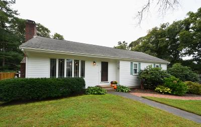 Falmouth MA Single Family Home For Sale: $575,000