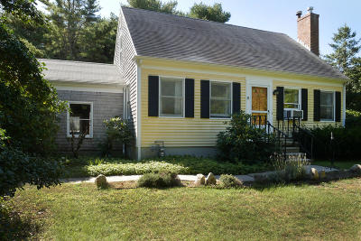 Harwich Single Family Home For Sale: 200 & 208 Route 137