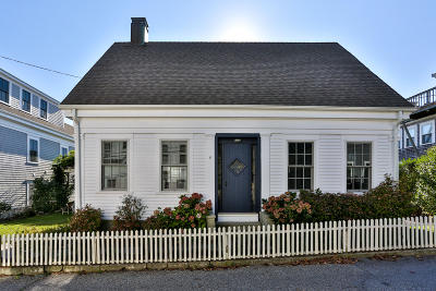 Provincetown Single Family Home For Sale: 6 Conant Street