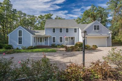 Wellfleet MA Single Family Home For Sale: $995,000
