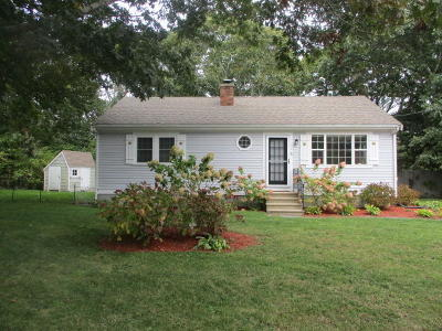 Barnstable Single Family Home For Sale: 116 Windshore Drive