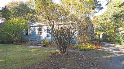 Harwich Single Family Home For Sale: 4 Cahoon Lane