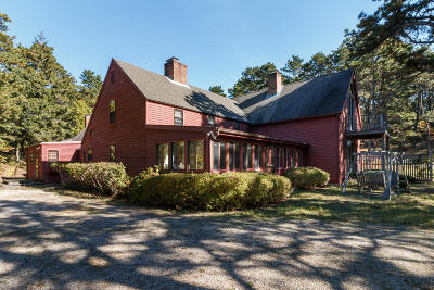 Wellfleet Single Family Home For Sale: 250 Cranberry Hollow Road