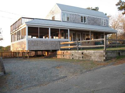 Wellfleet Single Family Home For Sale: 155 Nauhaught Bluffs Road