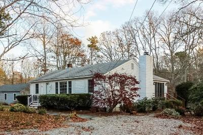 Mashpee Single Family Home For Sale: 59 Monahansett Road