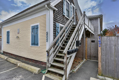 Provincetown Condo/Townhouse For Sale: 233 Bradford Street #U3