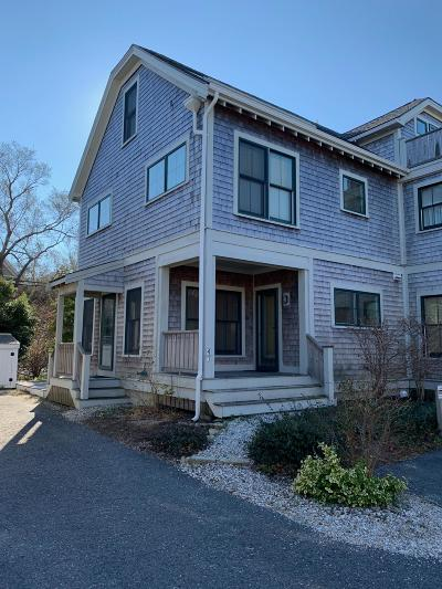 Provincetown Condo/Townhouse For Sale: 4 Meadow Road #U1