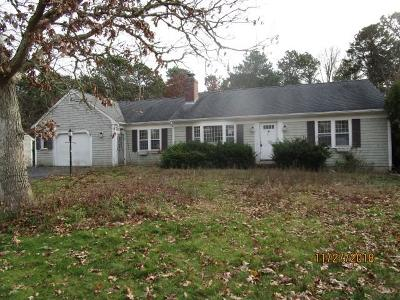 Yarmouth Single Family Home Active W/Contingency: 121 Capt Small Road
