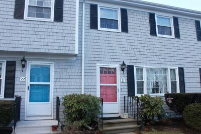 Harwich Condo/Townhouse For Sale: 231 Route 28 #23