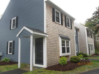 Brewster MA Condo/Townhouse For Sale: $232,000