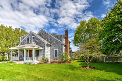 Barnstable Single Family Home For Sale: 1596 Main Street