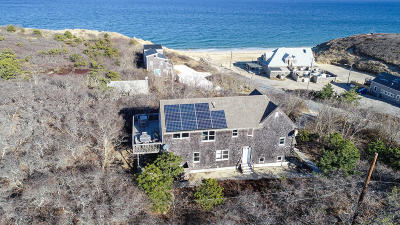 Wellfleet Single Family Home For Sale: 1105 Cahoon Hollow Road