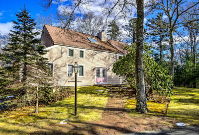 Sandwich Single Family Home For Sale: 1 Palmer Road