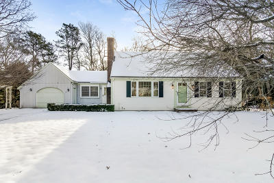 Barnstable Single Family Home For Sale: 41 Oxner Road