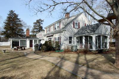 Falmouth Single Family Home For Sale: 483 Menauhant Road